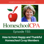 How to Have Happy and Thankful Homeschool Co-op Members
