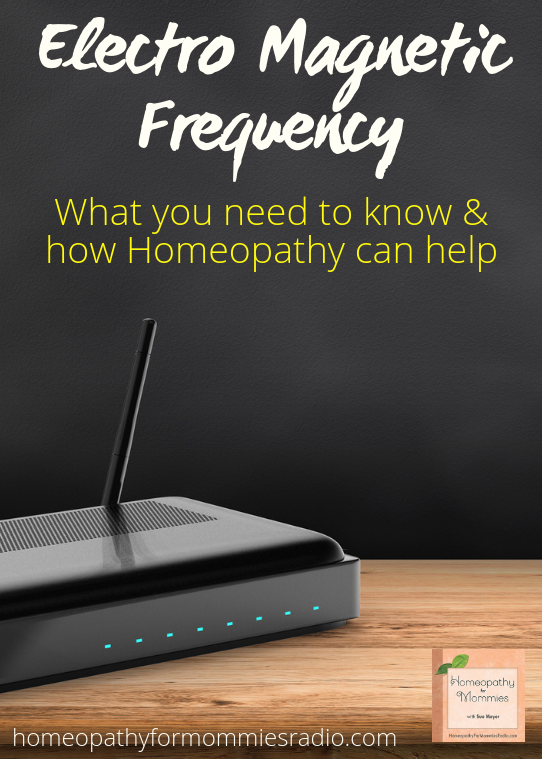 Electro Magnetic Frequency (EMF) - What you need to know and how homeopathy can help. #homeopathy #podcast #EMF #saltlamp