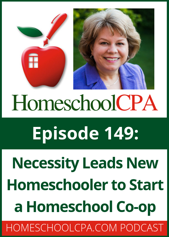 In today's podcast Carol Topp interviews homeschool leader Becky Abrams who started and leads a homeschool co-op in Oregon. #homeschool #homeschoolcoop