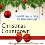 Countdown To Christmas Planning