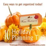 10 Holiday Planning Tips