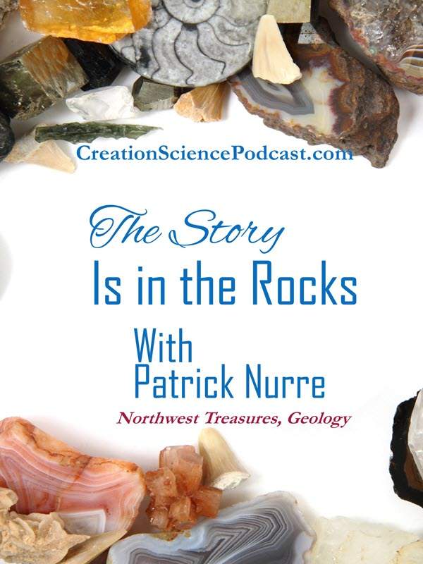 Story in the Rocks | Patrick Nurre shares the story in the rocks in today's' episode. Below find the show notes, and also a set you can also download a set. | #podcast #creationpodcast