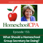 Homeschool leader Amanda Shafer is a woman of many talents. Listen as she shares about serving as her homeschool group's board secretary.