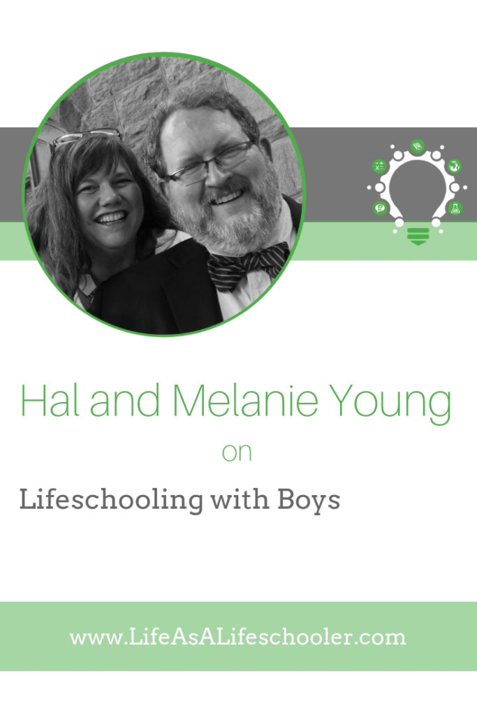 Hal and Melanie Young - boys