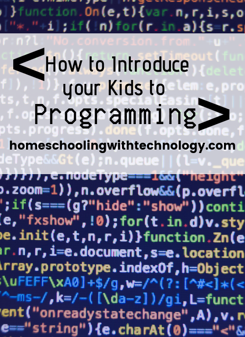 How to Introduce your Children to Programming