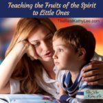I often suggest parents start with the Fruit of the Spirit when helping little ones understand God and His world. In this podcast, I share practical ways to teach your children.