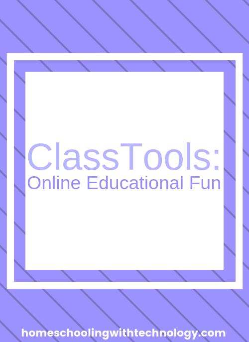 Classtools Online Educational Fun