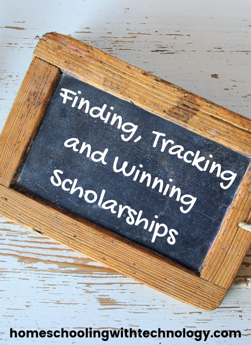 Finding, Tracking and Winning Scholarships