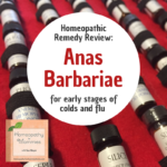 Homeopathic Remedy Review: Anas Barbariae (otherwise known as Oscillococcinum) for early stages of colds and flu - hear about it in this podcast!