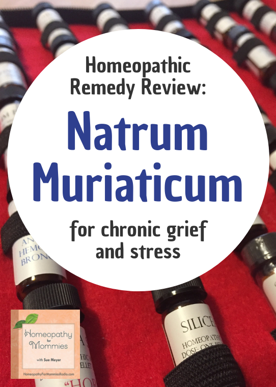 "Natrum Muriaticum is one of the most important homeopathic remedies that we have available.  It's a cell salt, sodium chloride, and is known as the remedy for ""Long term Grief."" Learn more in this short podcast! #podcast #homeopathy"