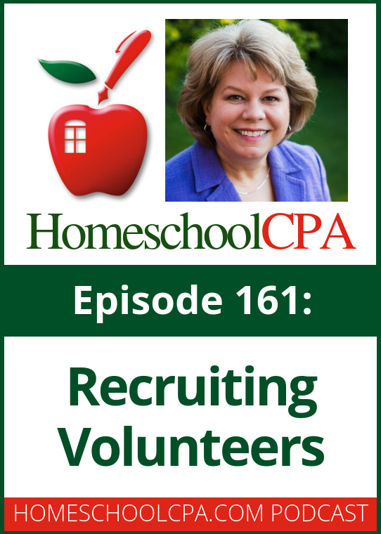 Does your homeschool group have a hard time finding volunteers? Many groups struggle with getting people to help out. Homeschool leader Michele Gross shares some great tips for recruiting volunteers with host Carol Topp.