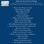 Kids Say The Funniest Things | Parents everywhere can attest to the fact that kids say the funniest things! In fact, if you want everyone to know something, tell your toddler. | #blog #homeschoolblog #UHRNetwork