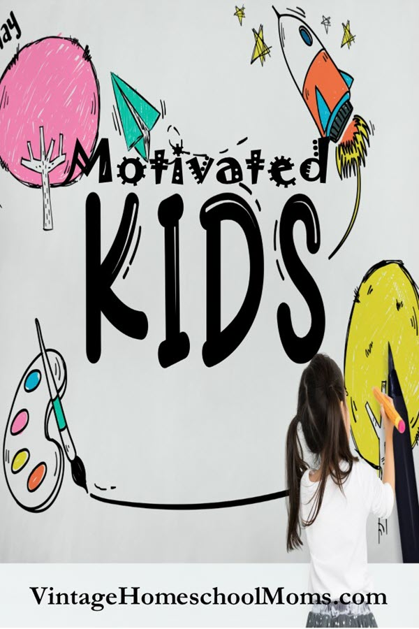 Motivated Kids | How do you have motivated kids without stressing them out? Whatever happened to childhood? In this episode, we talk about helping your kids be kids and motivating them to be their best. | #podcast #homeschoolpodcast