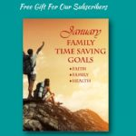 FREE January Family Time Saving Goals Planner