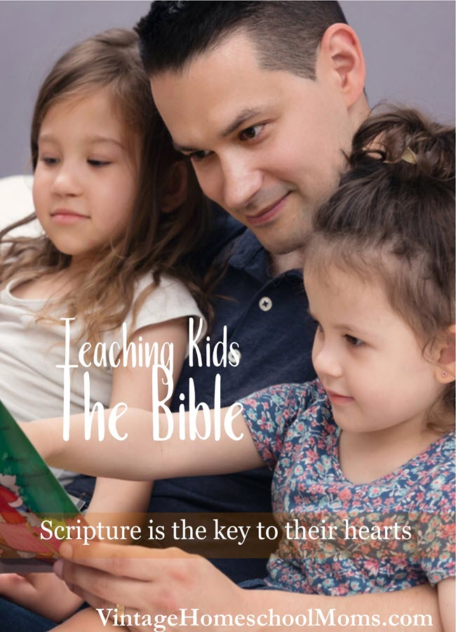 Teaching The Bible To Kids | The Bible is important in a Christian's life, but teaching the Bible to kids is sometimes difficult. #podcast #homeschoolpodcast