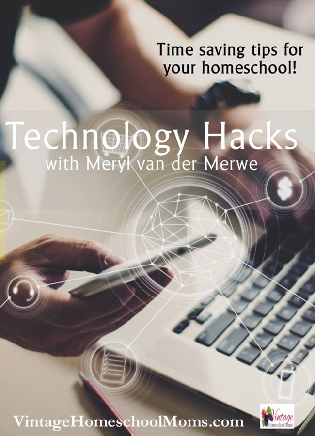 Technology Hacks | As a young mom, I was into saving time, as much time as I possibly could. If you know shortcuts who would not use them? In this interview, I have a technology expert and the podcaster... #podcast #homeschoolpodcast