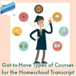 HSHSP Ep 149: The Got-to-Have-Types of Courses for the Homeschool Transcript