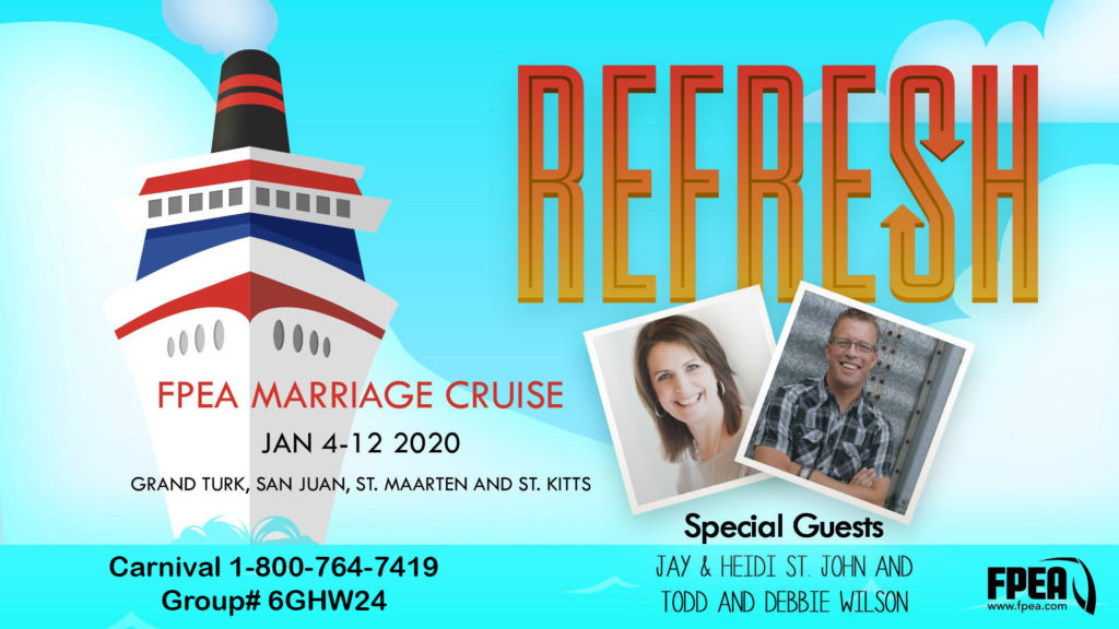 Refresh FPEA Marriage Cruise #cruise #fpea #florida #homeschool #podcast