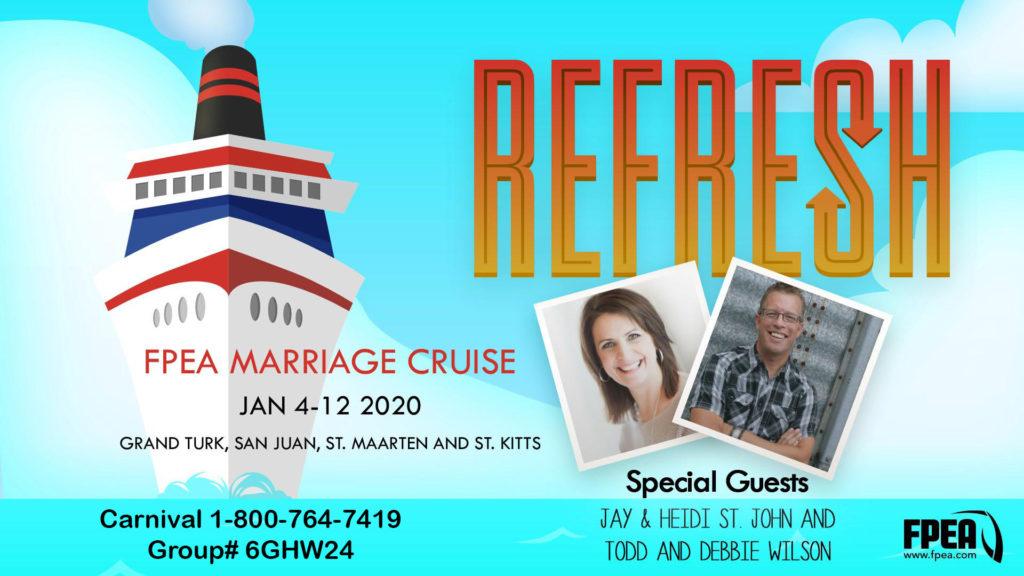 Refresh FPEA Marriage Cruise #cruise #fpea #florida #homeschool #podcast