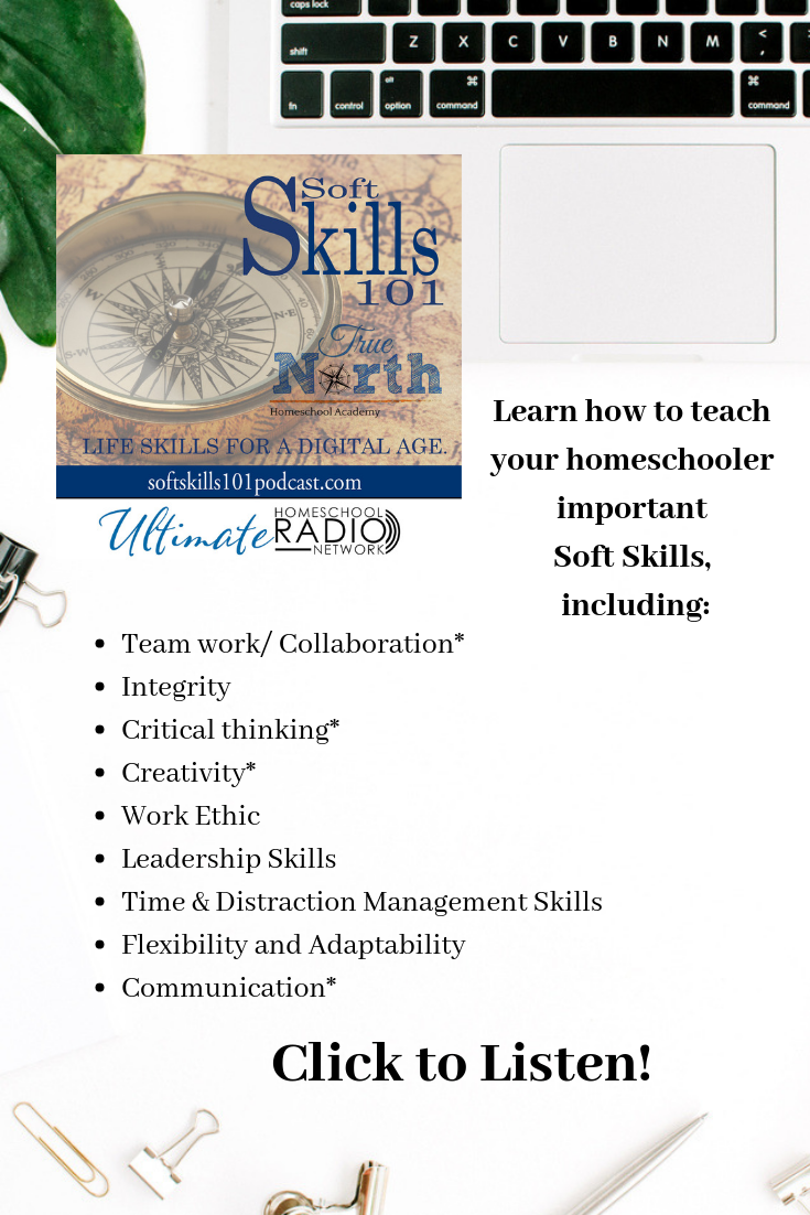 Soft Skills101 Podcast on the Ultimate Homeschool Podcast Network