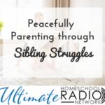 Peacefully Parenting through Sibling Struggles