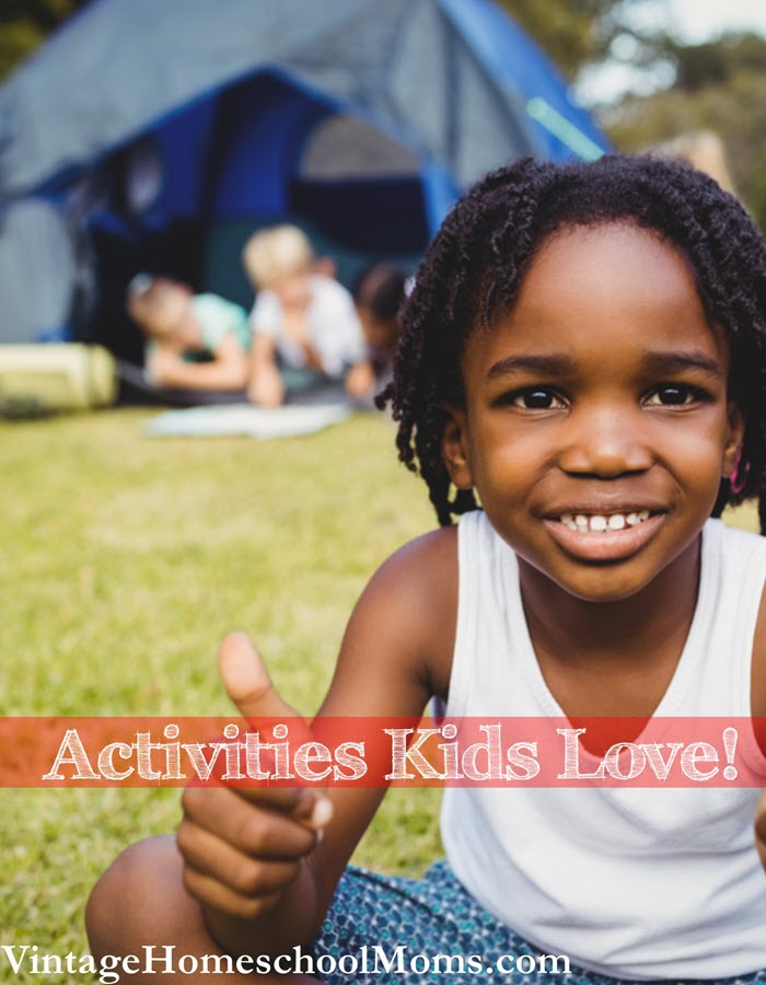 Activities Kids Love | Spring is the time to do something fun this episode explains how activities kids love can teach. | #podcast #homeschoolpodcast