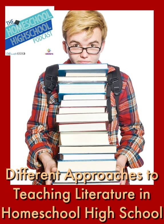 Different Approaches to Teaching Literature. There's not ONE right way to homeschool high school Literature. Here are some approaches.