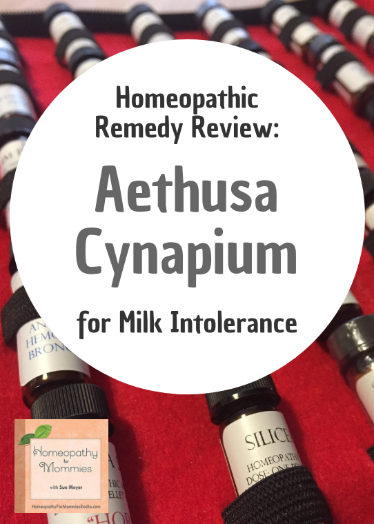 Aethusa Cynapium is the homeopathic remedy for Milk Intolerance and more!  Listen to this podcast to find out more! #podcast #homeopathy