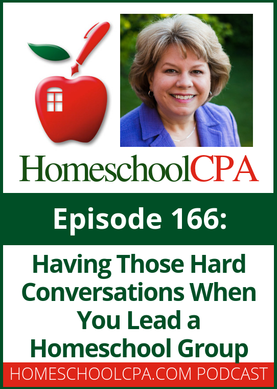 Ugh! As a homeschool leader, don't you hate having those hard conversation with families, students of your staff?   Listen to this podcast for advice!