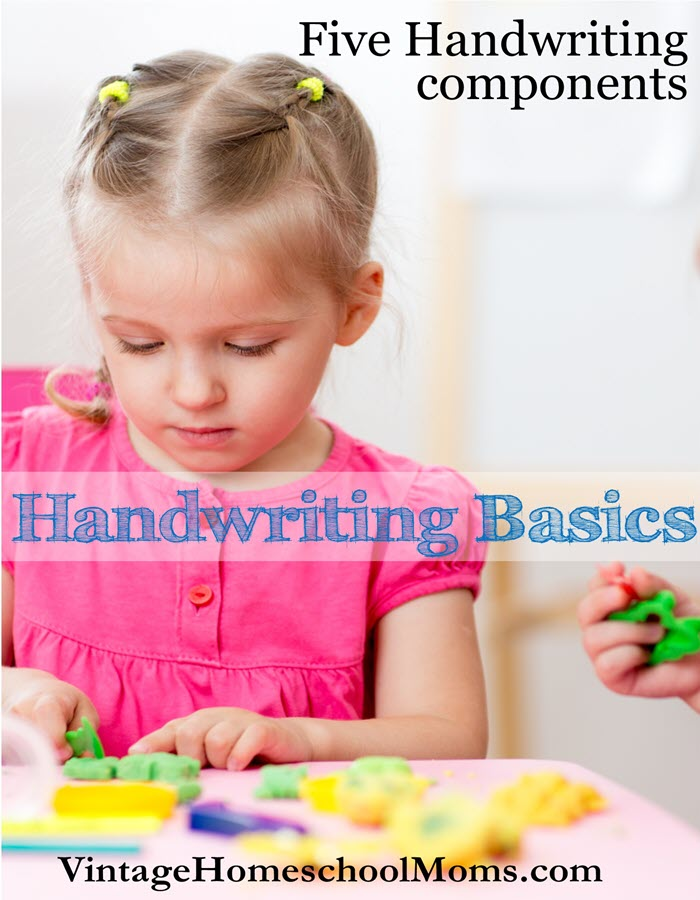 Handwriting Basics | Handwriting basics begin with exercises to strengthen the child's hands. In this episode, Felice Gerwitz interviews Jodie Oare who is an early childhood instructor, who has spent over twenty years working with preschoolers. | #podcast #homeschoolpodcast
