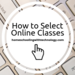 How to select online classes