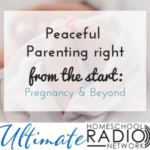 Peaceful parenting from the start: pregnancy and beyond