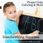 Handwriting Success | Handwriting success increases your child's ability to write well. In this episode we learn the importance of the child exercising their hands by playing with clay, putting together blocks and lacing among other things. | #podcast #homeschoolpodcast