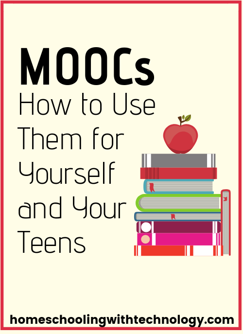 MOOCs How to use them for you and your teen #homeschoolonline #homeschoolhighschool #homeschoolpodcast #MOOC
