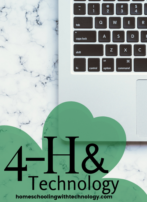 4-H and Technology #4H #youthprograms #homeschooling