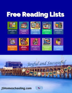 Free Reading Lists by Powerline Productions at joyfulandsuccessfulhomeschooling.com