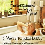 Encouragement For Moms ? Let's regroup and recharge! This episode if just for you mom, I'll share some of the ways I've been able to take some time and refill, gain more energy and then charge back into life. #podcast #homeschoolpodcast