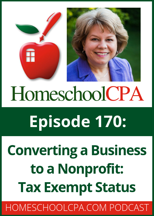 Carol Topp, CPA explains the basics of a nonprofit organization. In this third episode Carol discusses 501c3 tax exempt status.