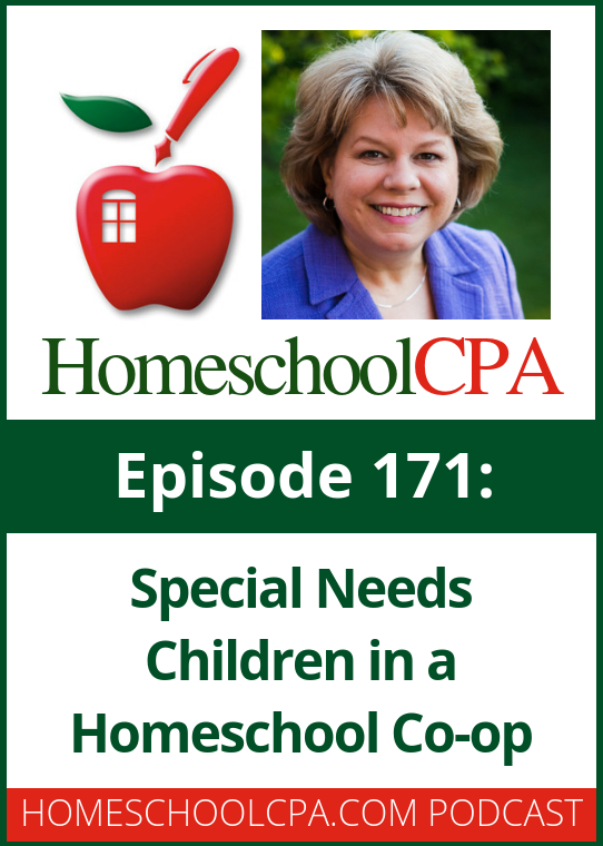 In this episode, Faith Berens explains to host Carol Topp how a homeschool co-op can welcome a child with special needs. #Homeschool #Podcast