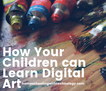 How your children can learn digital art