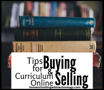 Tips for buying and selling curriculum online