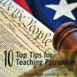 Patriotic Kids | We teach our children many things but what about patriotism? Having patriotic kids takes education. There are many opportunities during the year to teach children about our great country...| #podcast #homeschoolpodcast #patriotic
