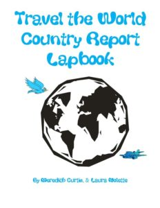 Travel the World Country Report Lapbook by Meredith Curtis