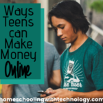 Ways teens can make money online