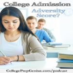 "Adversity Score | What is the adversity score? The adversity score is designed to help the underprivileged with fifteen factors that are considered for the ""adversity score"" to be considered valid for a student. 