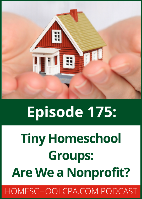 In this 4-part podcast series, Carol Topp, CPA answers the common questions that tiny homeschool groups face.