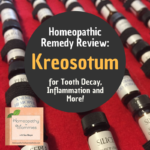 This week on the Homeoapthy for Mommies, Sue discusses the remedy Kreosotum for tooth delay in children, inflammation and more!