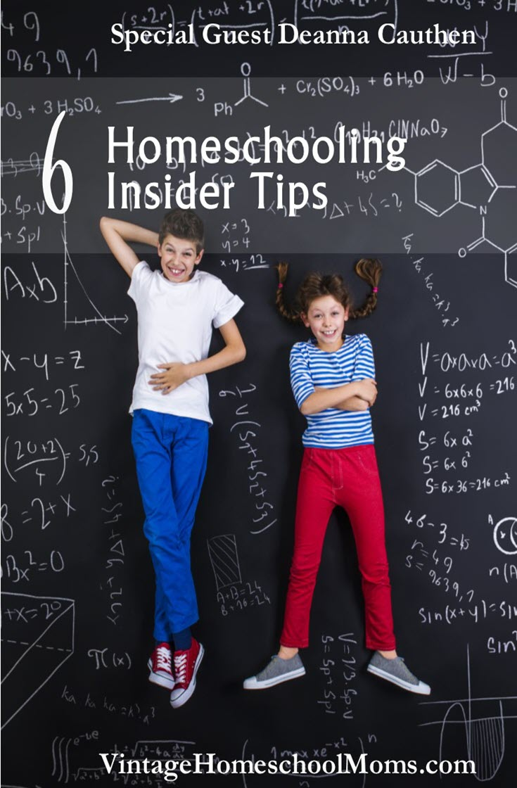 Homeschooling Insider Tips | Deanna homeschooled for many years and she is here to share her homeschooling insider tips. With kids who have different temperaments and learning styles and even with challenges, she graduated her four children. Join Deanna Cauthen-Johnson and Felice Gerwitz. | #podcast #homeschoolpodcast #homeschooling