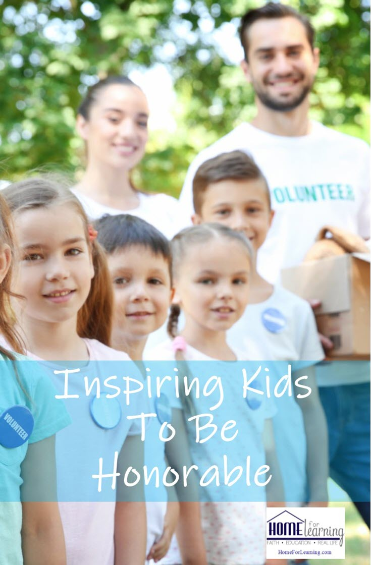 "Inspiring Kids to Be Honorable | Is inspiring kids to be honorable possible? Yes, it is but it takes consistency and a ""secret"" ingredient as you will soon learn! 