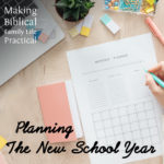 Planning for the New School Year – MBFLP 229